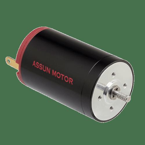 Silnik DC Assun Motor bezrdzeniowy